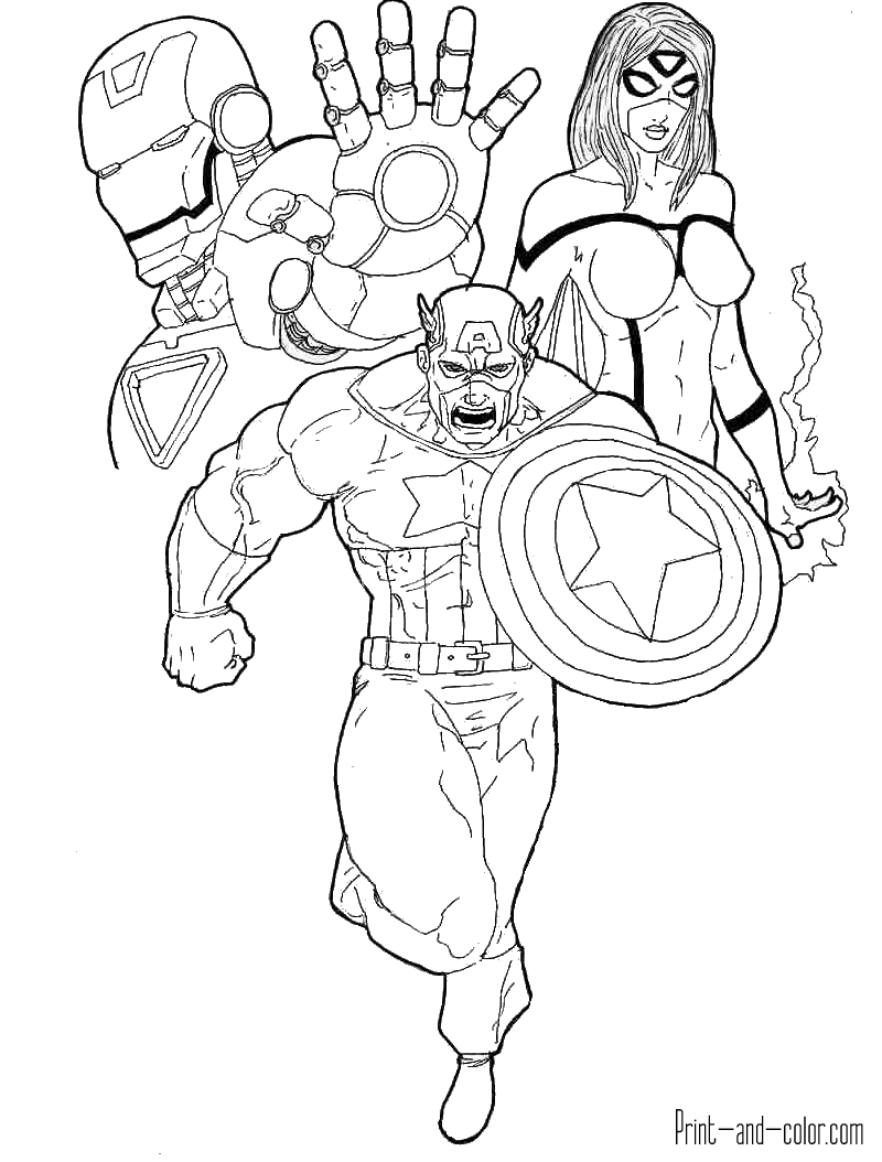 This is a graphic of Luscious Avengers Coloring Pictures To Print