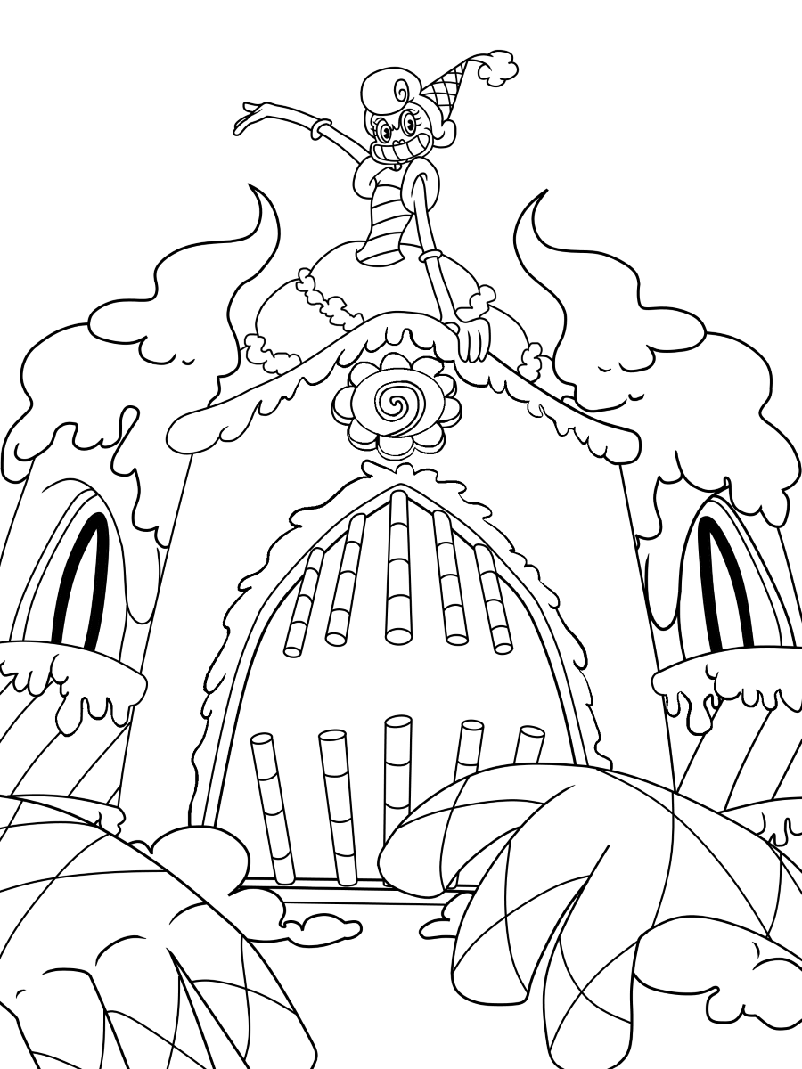 Cuphead coloring pages   Print and Color.com