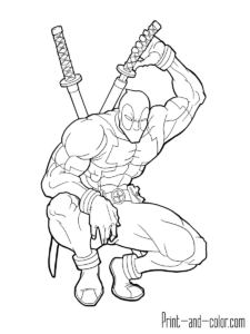Fortnite Dead Pool - Free Coloring Pages