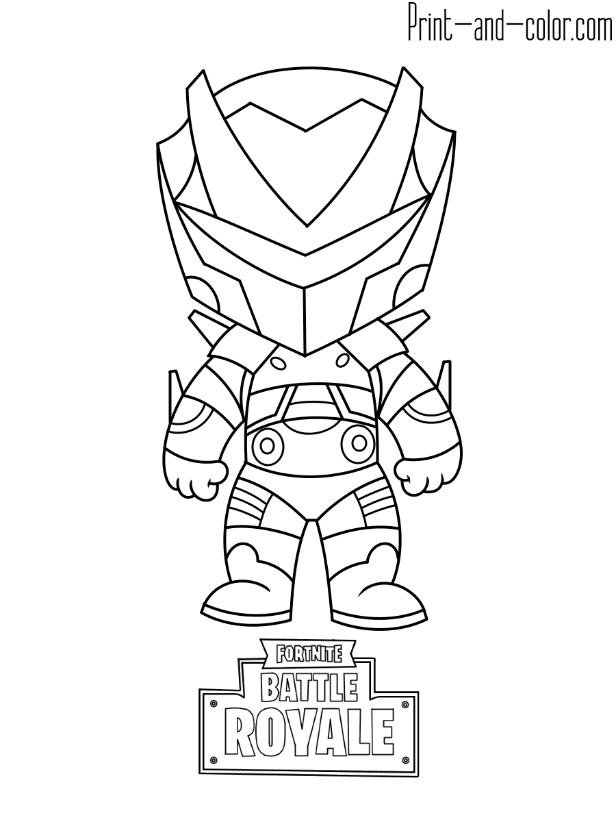 Fortnite coloring pages | Print and Color.com