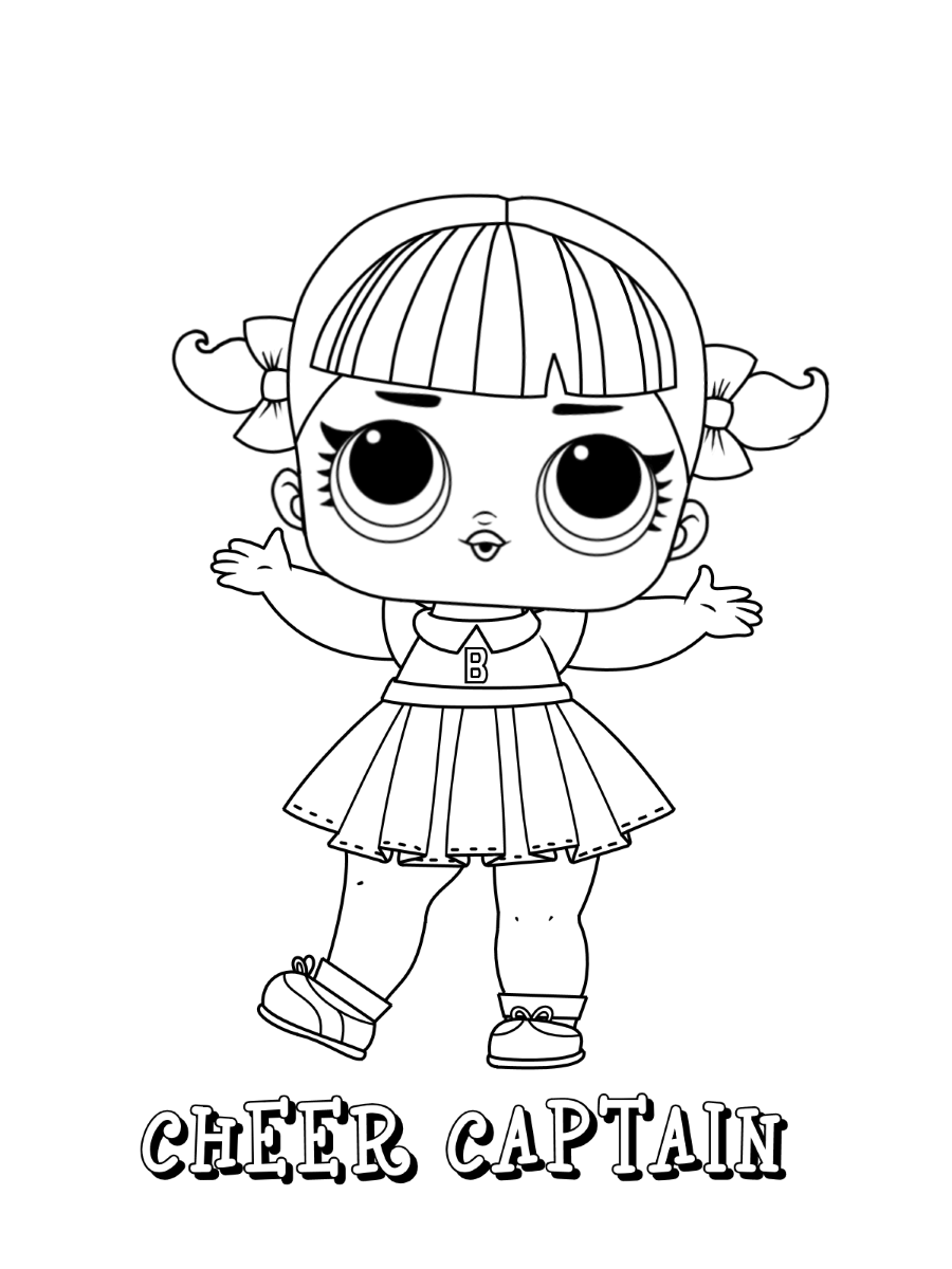 LOL Surprise coloring pages | Print and Color.com