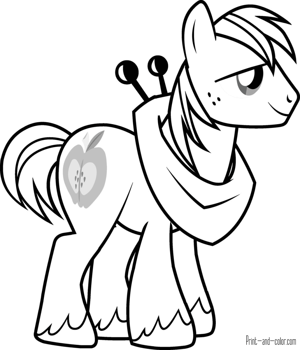my little pony coloring pages  print and color
