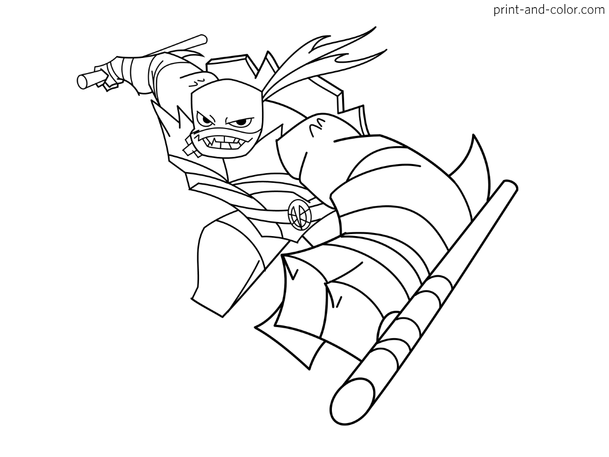 Rise Of Teenage Mutant Ninja Turtles Coloring Pages Print And Color Com