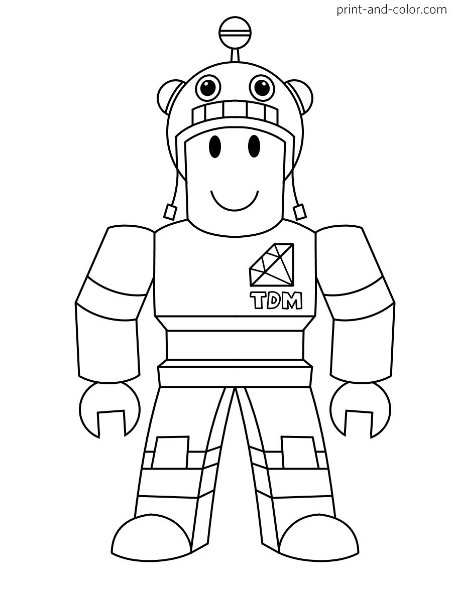 Roblox coloring pages | Print and Color.com