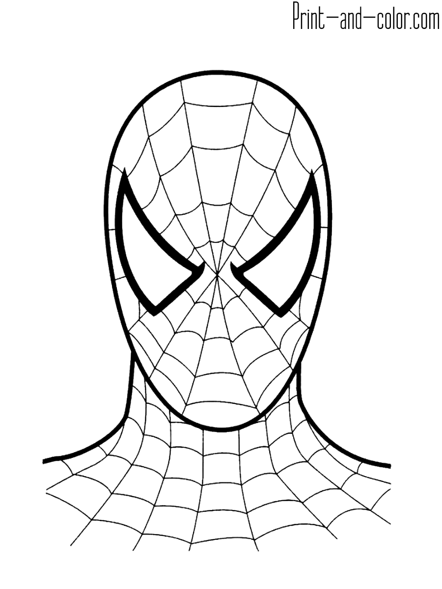 Spider Man coloring pages | Print and Color.com