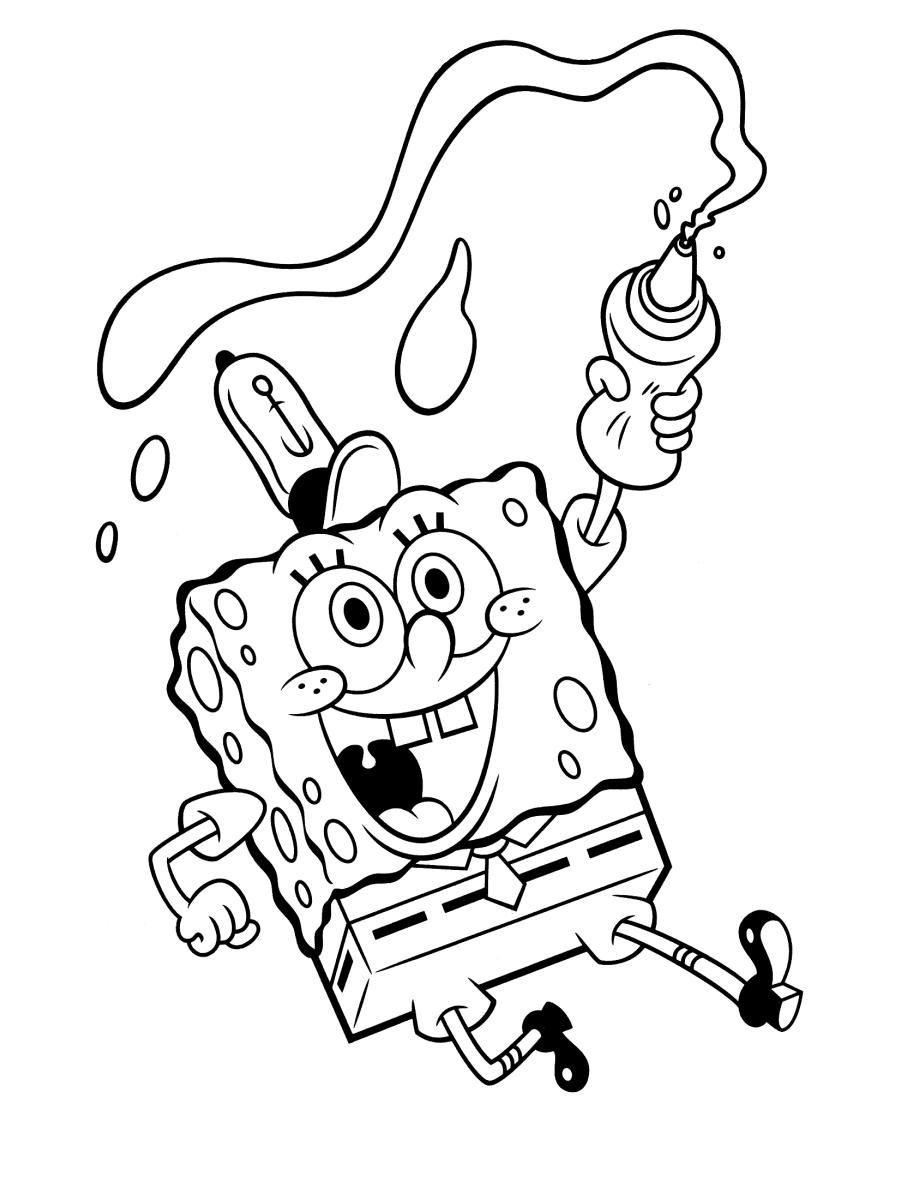 Coloring Spongebob / Spongebob Coloring Book Game Disney ...