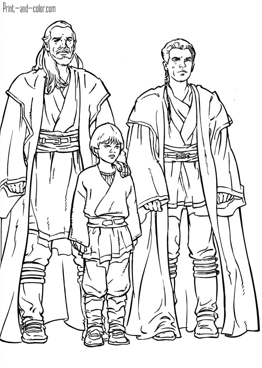 star wars coloring pages | print and color
