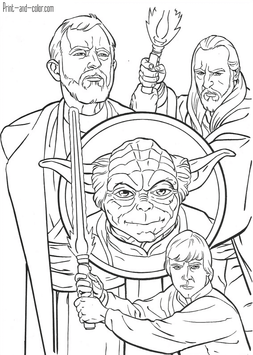 Star Wars coloring pages | Print and Color.com