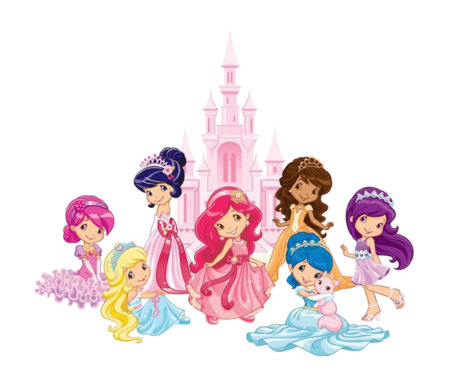 To Strawberry Shortcake Coloring Pages