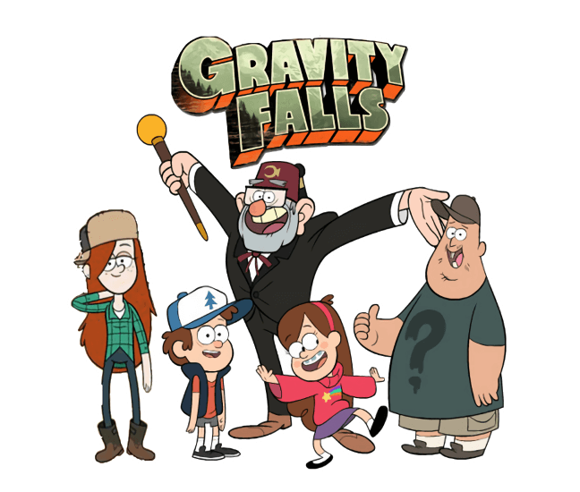 To Gravity Falls coloring pages